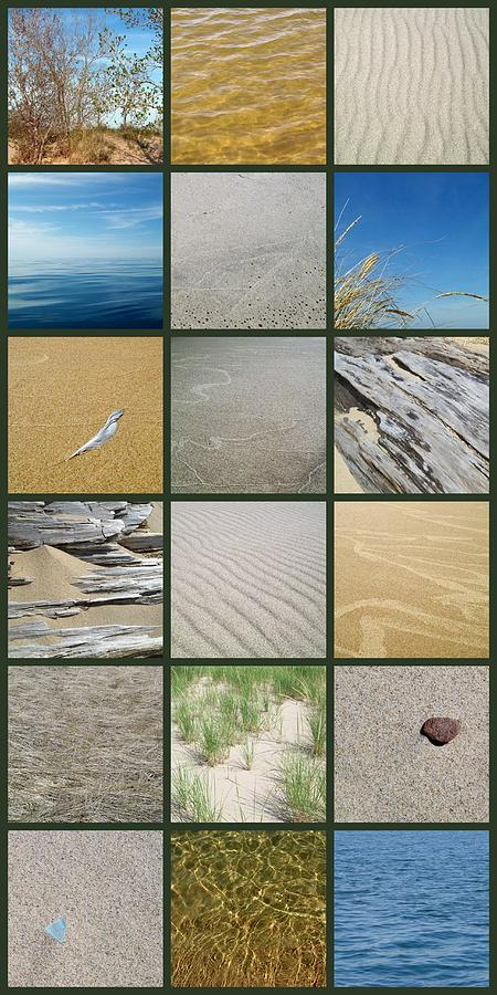 Nautical Photograph - One Day At The Beach Ll by Michelle Calkins