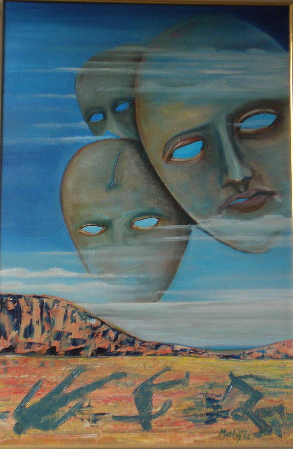 Surrealism Painting - One Day Too Late by Jan Paulus-maly