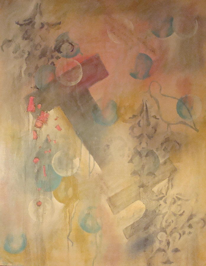 Abstract Painting - One Day by W  Todd Durrance