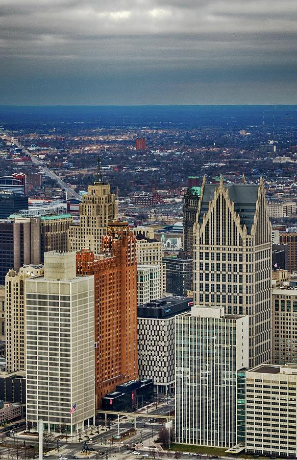 Detroit Photograph - One Detroit by Winnie Chrzanowski