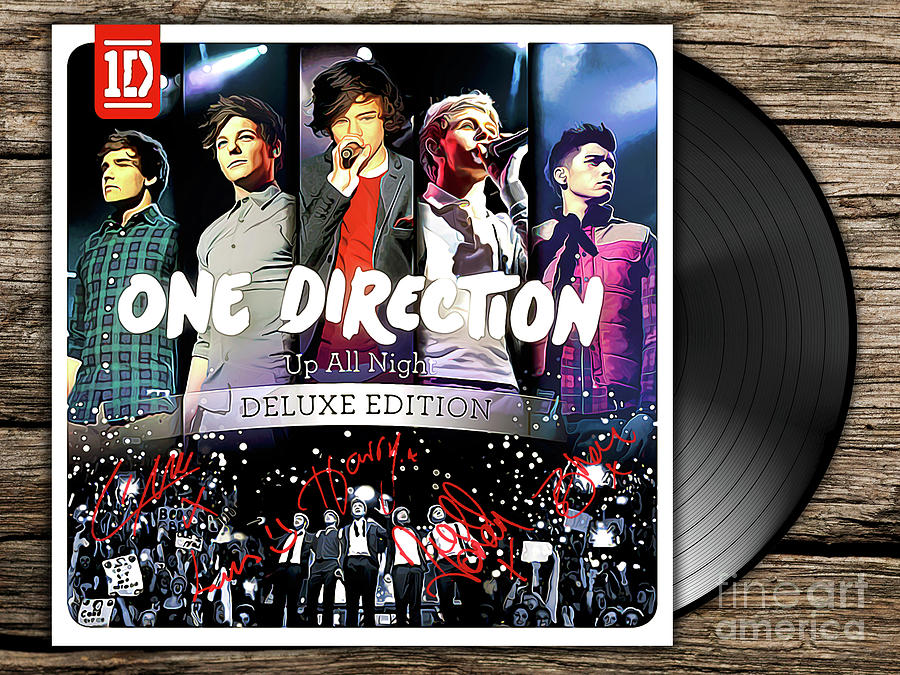 One Direction Up All Night Deluxe Edition Zip