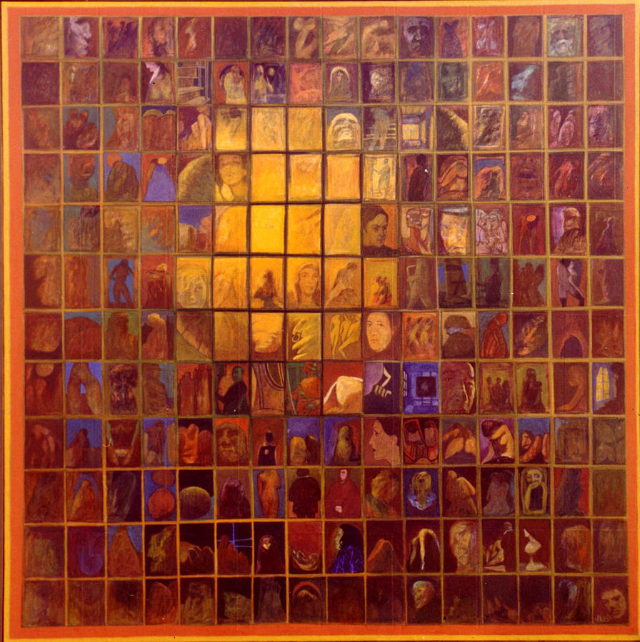 Multiple Images Painting - One Hundred And Ninety Two by James LeGros