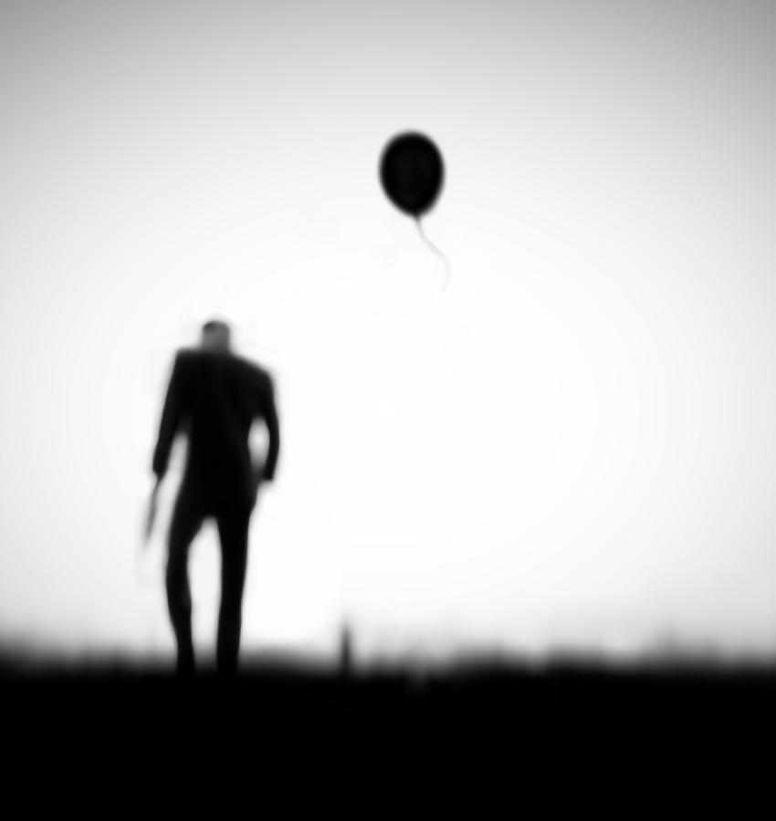Balloon Photograph - One Last Chance by Hengki Lee