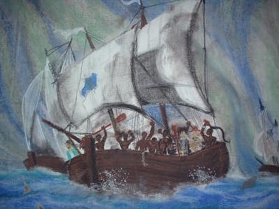 One Last Sail Painting by Richard Carter