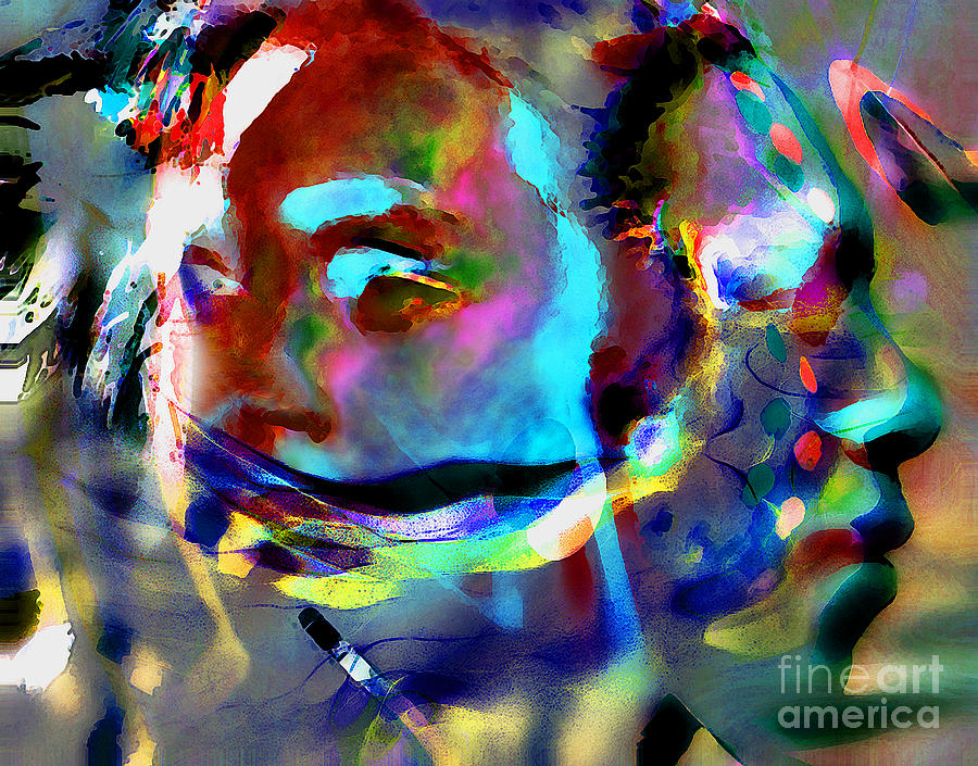 Abstract Photograph - One Love by Terril Heilman