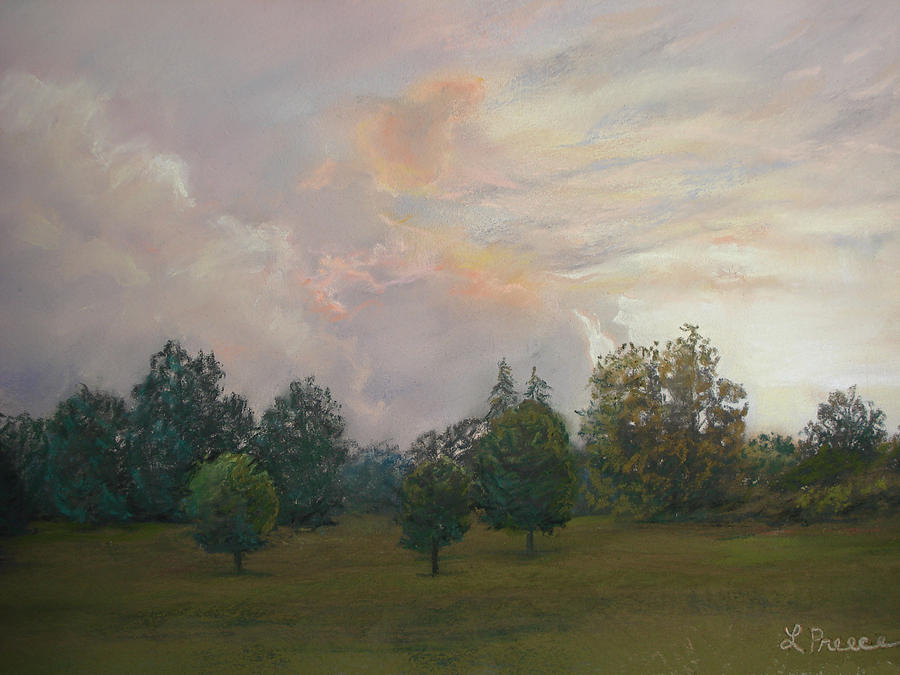 Sunset Pastel - One Magnificent Evening by Linda Preece