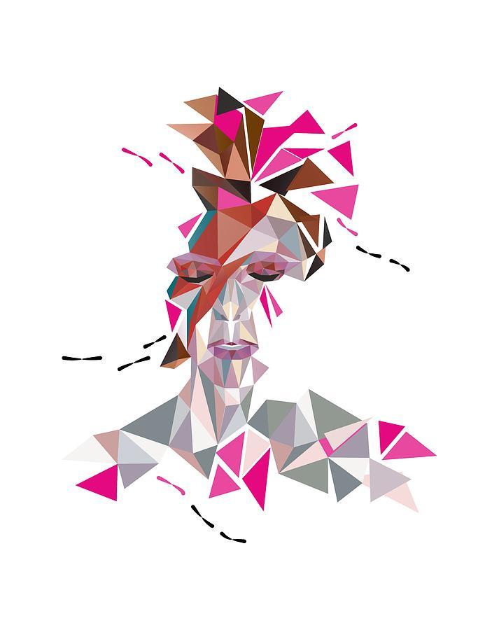 David Digital Art - One May Become Stardust by Julia Jasiczak