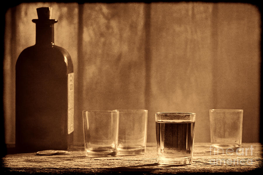 One More Drink by American West Legend By Olivier Le Queinec