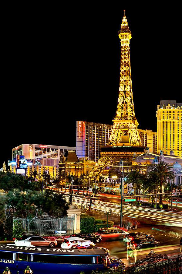 Las Vegas Photograph - One Night In Vegas by Az Jackson