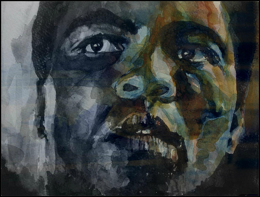 Muhammad Ali Painting - One Of A Kind  by Paul Lovering
