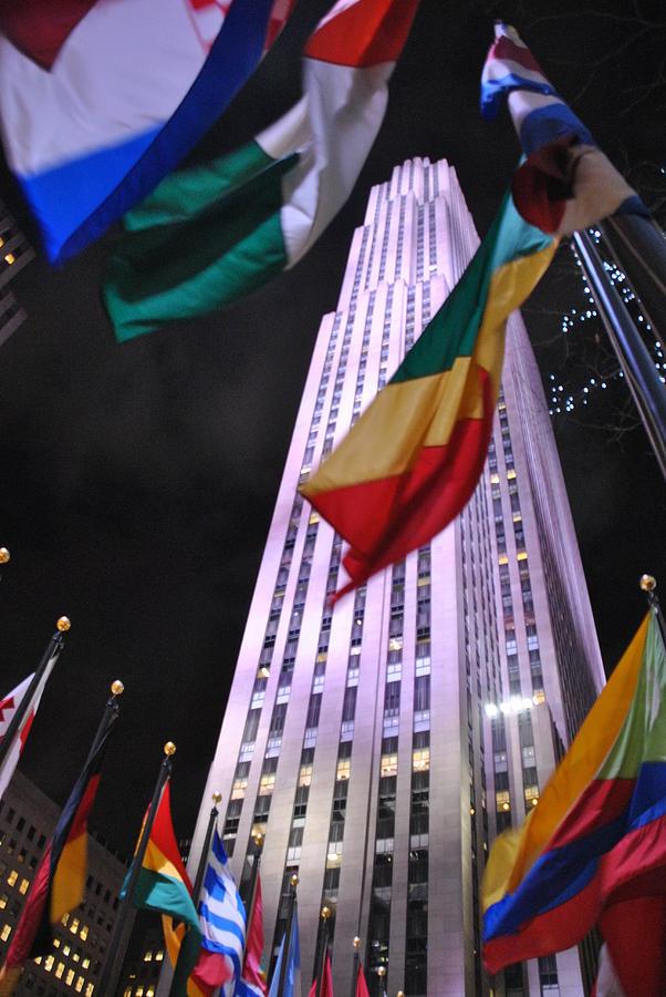 Manhattan Photograph - One Rockefeller Center by Jacqueline M Lewis