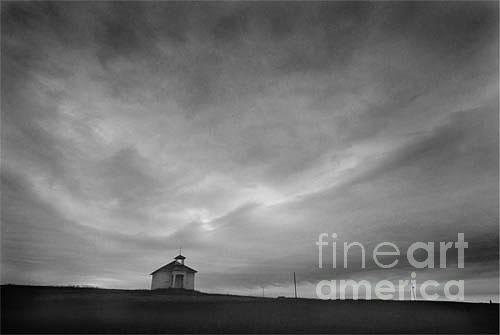 Landscape Photograph - One room schoolhouse by Michael Ziegler