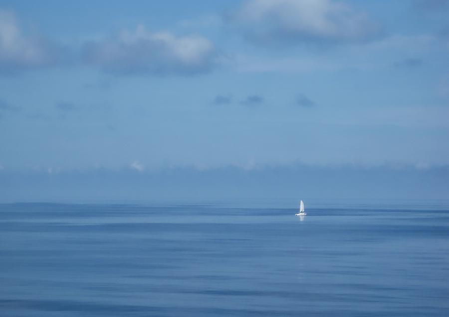 Sailboat Photograph - One by Stuart Smith