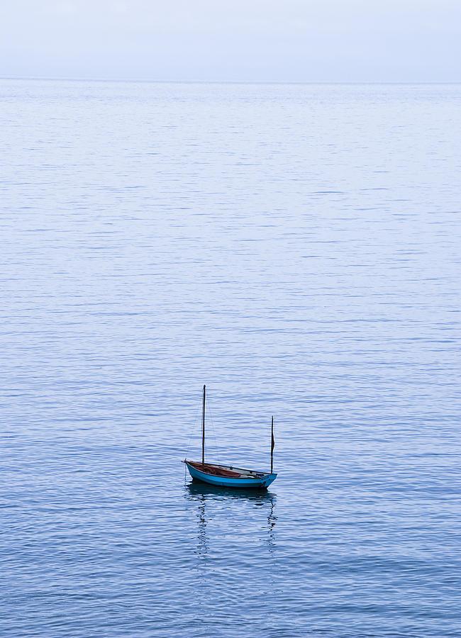 Aqua Photograph - One by Svetlana Sewell