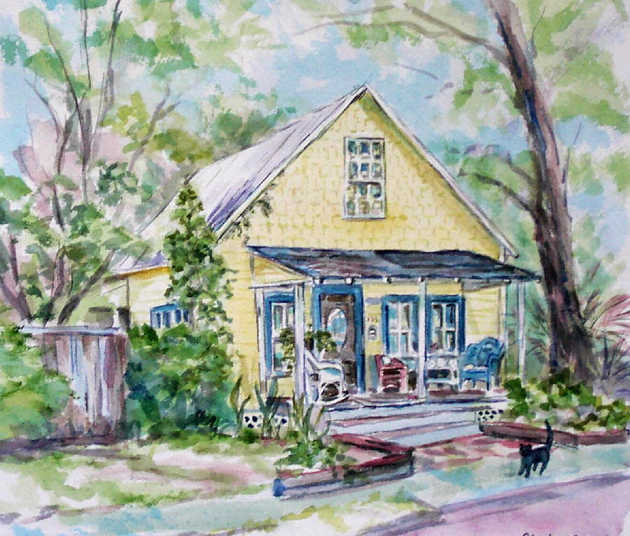 House Painting - One Thirty Five by Ruth Mabee