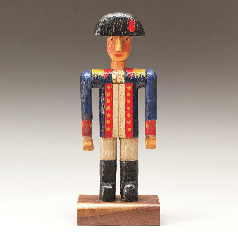Sculpture Painting - One Tin Soldier by James Neill