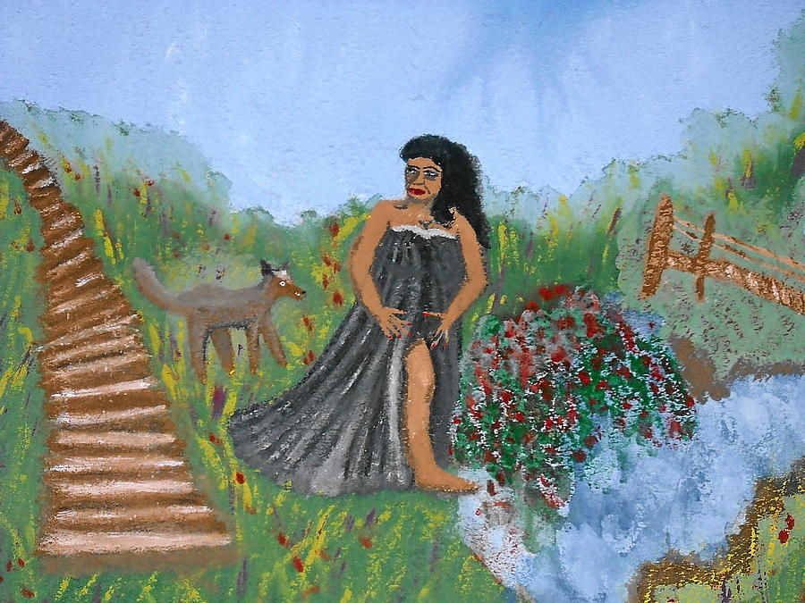 Scenery Painting - One Womans Journey by BJ Abrams