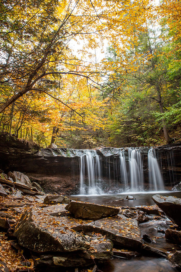 Waterfall Photograph - Oneida Falls 2 by John Daly