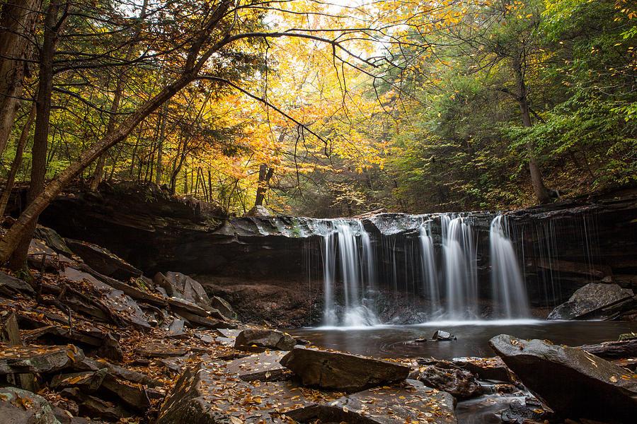 Waterfall Photograph - Oneida Falls by John Daly