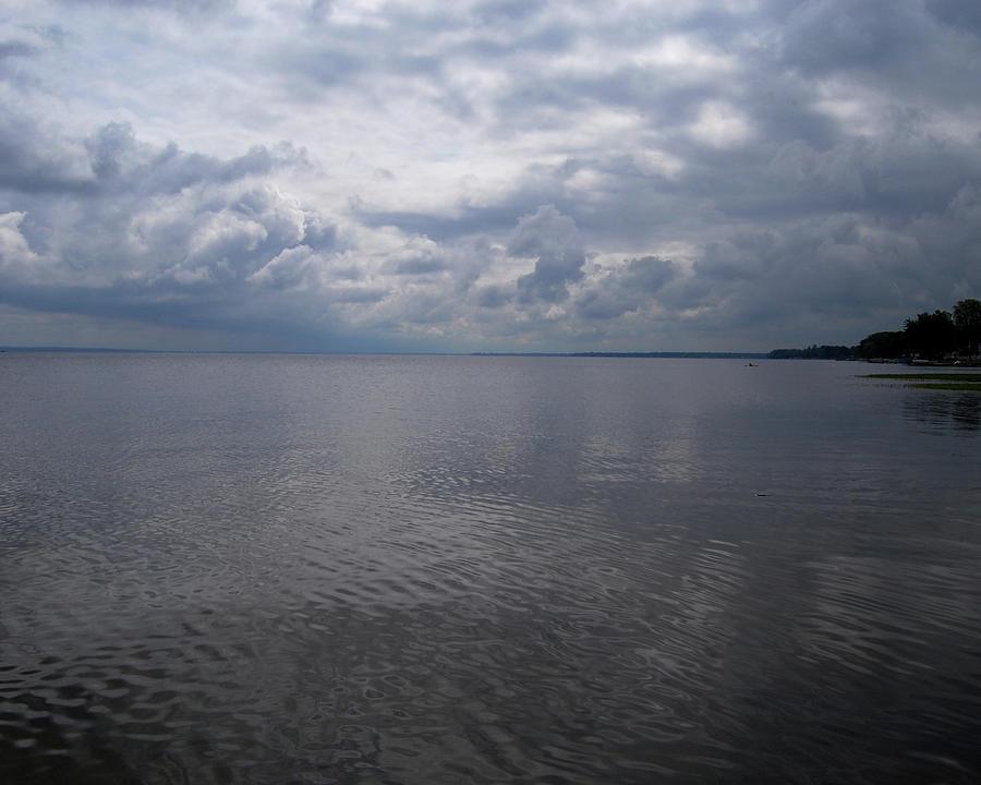 Oneida Photograph - Oneida Lake by Lisa Kane