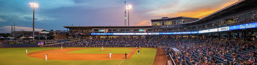 Oneok Stadium Panoramic - Tulsa Drillers - Tulsa Oklahoma Photograph
