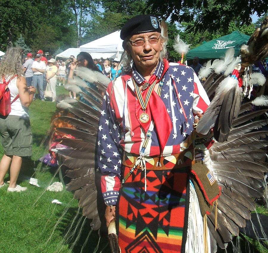 Onieda Tribal Member Photograph by Jamie Winter