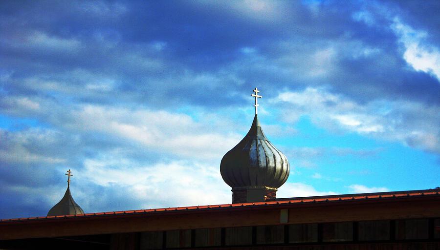 Onion Domes Photograph