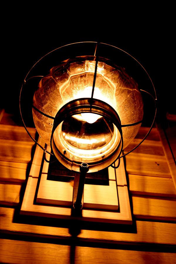 Architecture Pyrography - Onion Lamp At Night by Robert Morin
