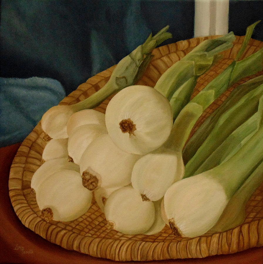 fineartamerica.com - Onions by Angeles M Pomata