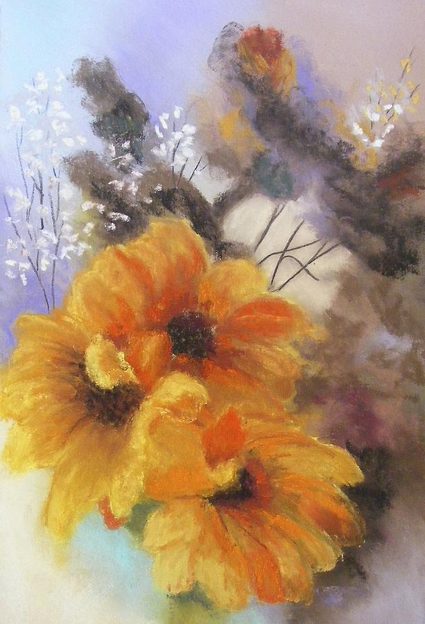 Flower Painting - Only A Whisper by Darlene Jaeger