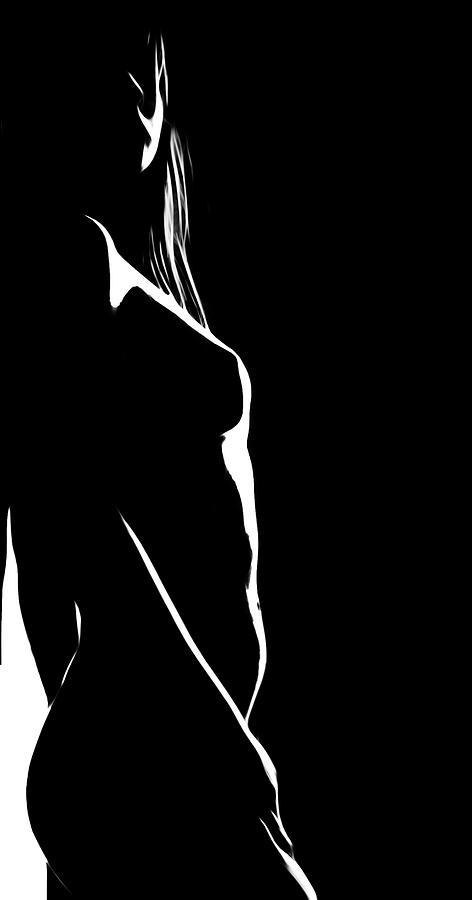 Only Black And White Digital Art by Steve K