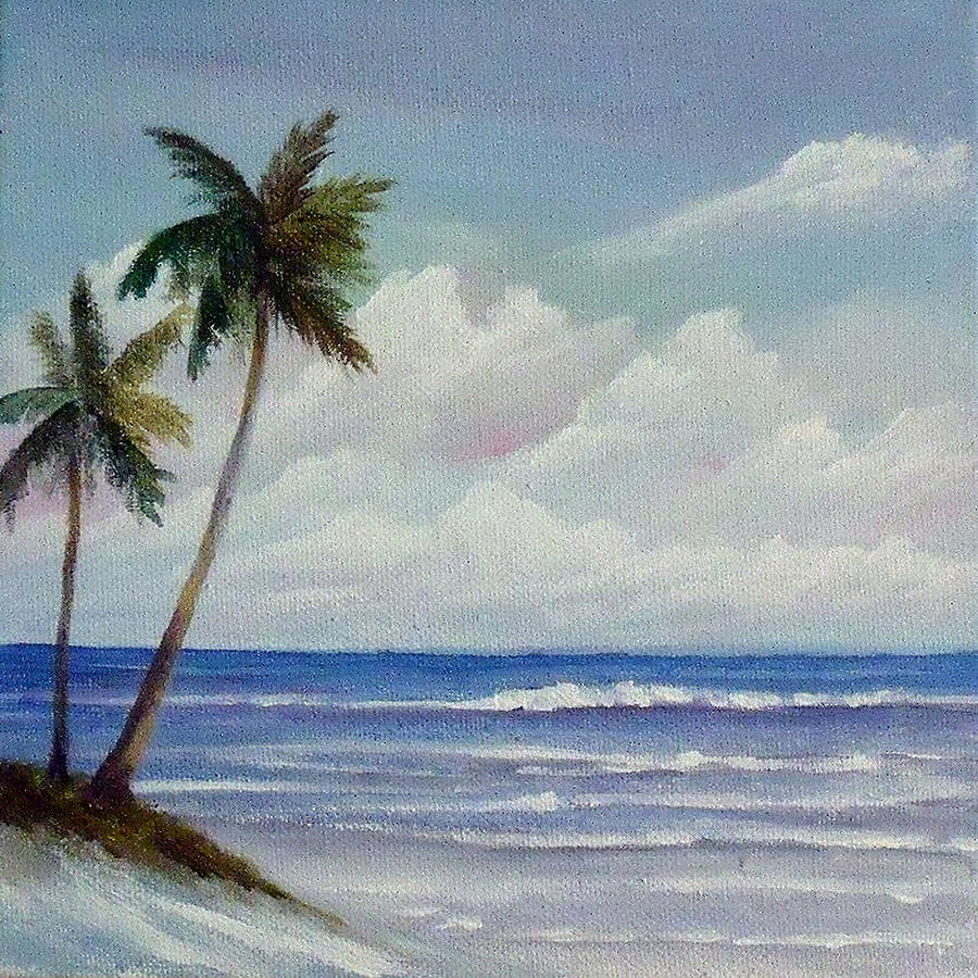 Beach Painting - Only In Miami Beach by Rosie Brown