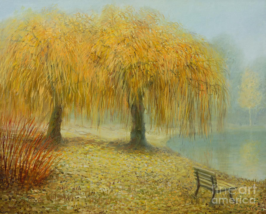 Artistic Painting - Only The Two Of Us by Kiril Stanchev