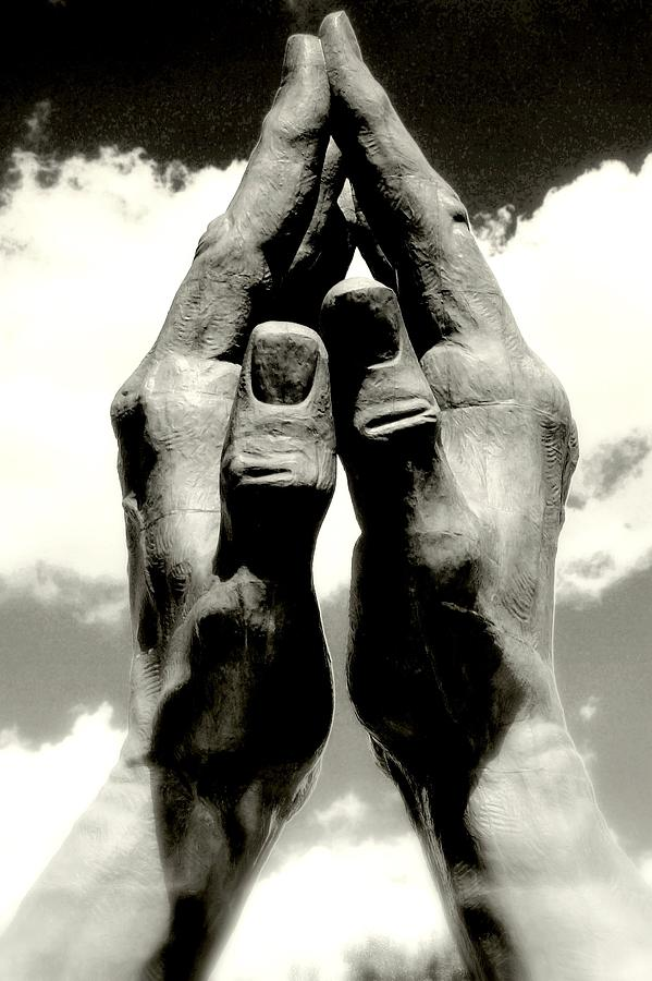 Prayer Photograph - only you..LORD by Al  Swasey