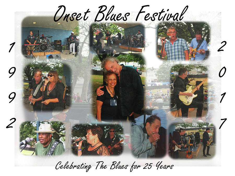 Onset Celebrates 25 Years of Blues by Bruce Gannon