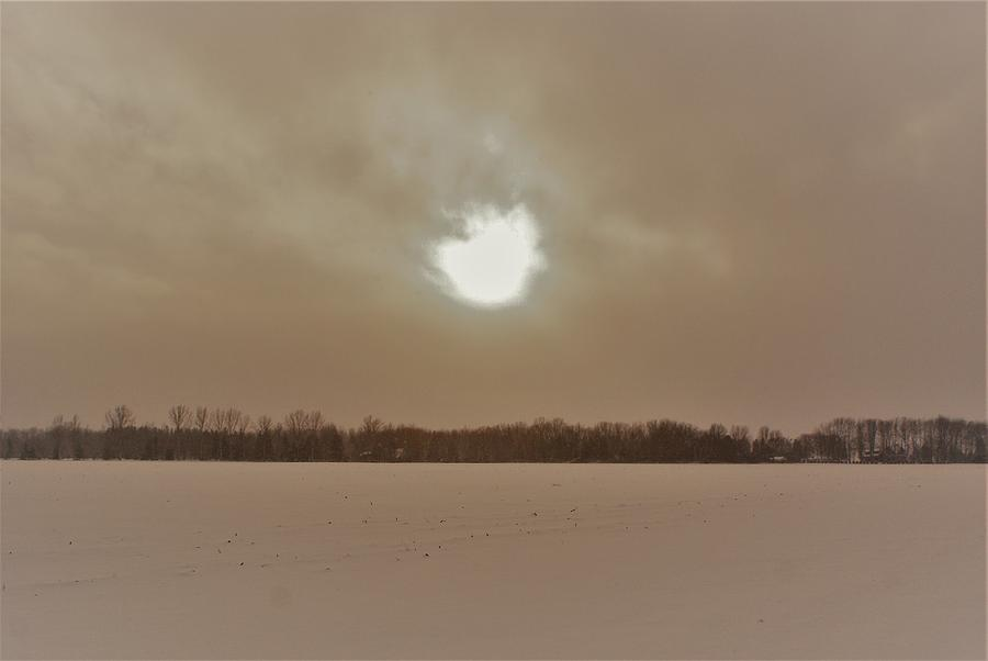 Ontario Sun In Winter Photograph by The Sangsters