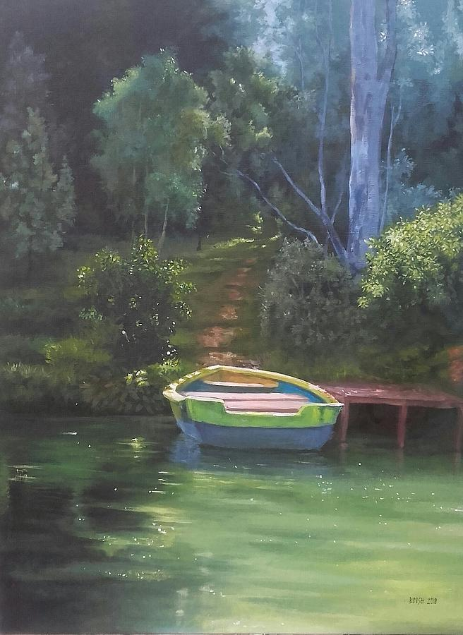 Landscape Painting - Ootty by Bineesh Sebastian
