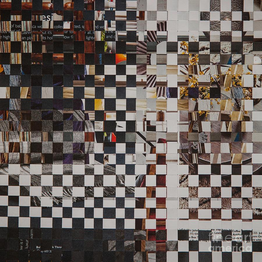 Paper Mixed Media - Op Art 101 by Jan Bickerton