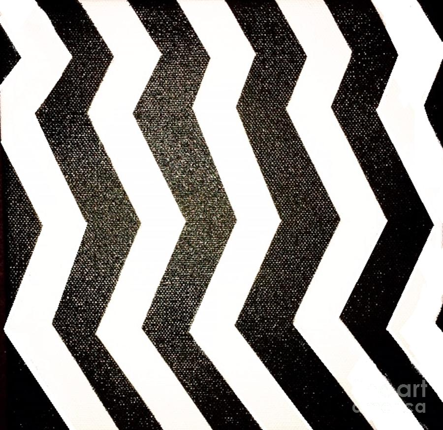 Optical Illusion Mixed Media - Op Art by Janelle Dey