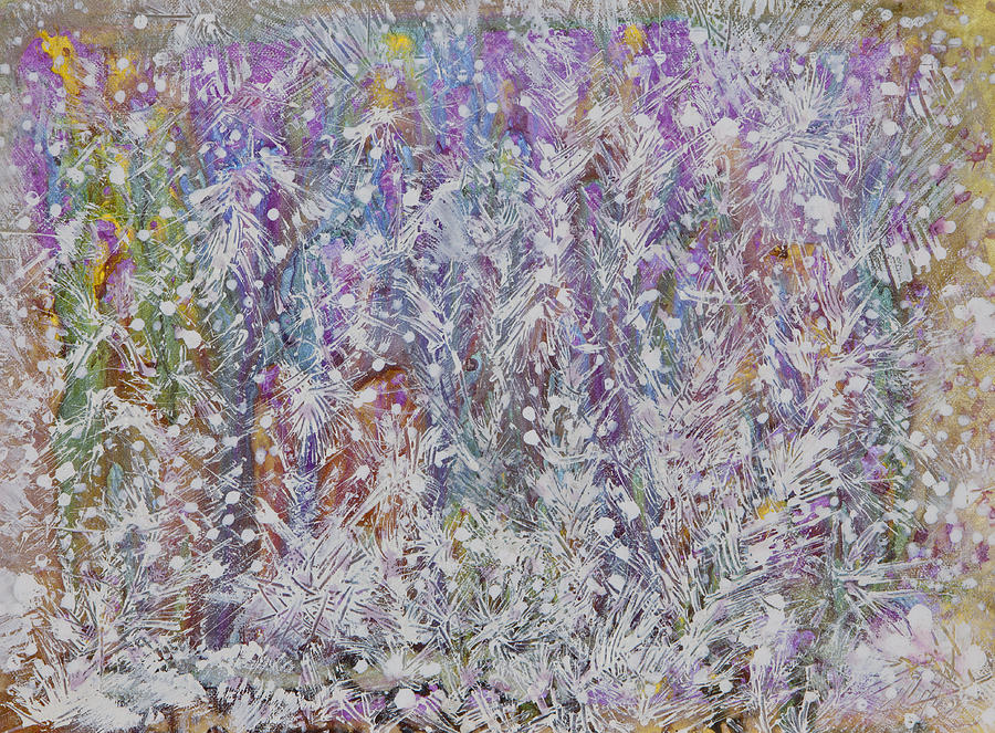 Acrylic Paint Painting - Opalescent by Don  Wright