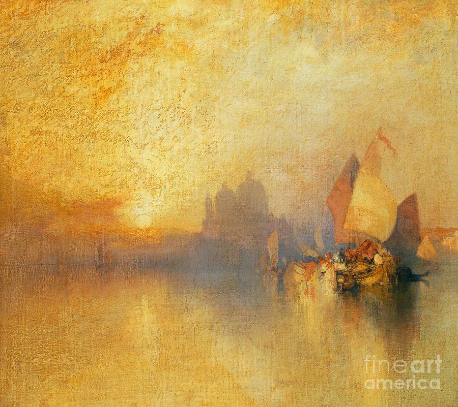 Thomas Moran Painting - Opalescent Venice by Thomas Moran