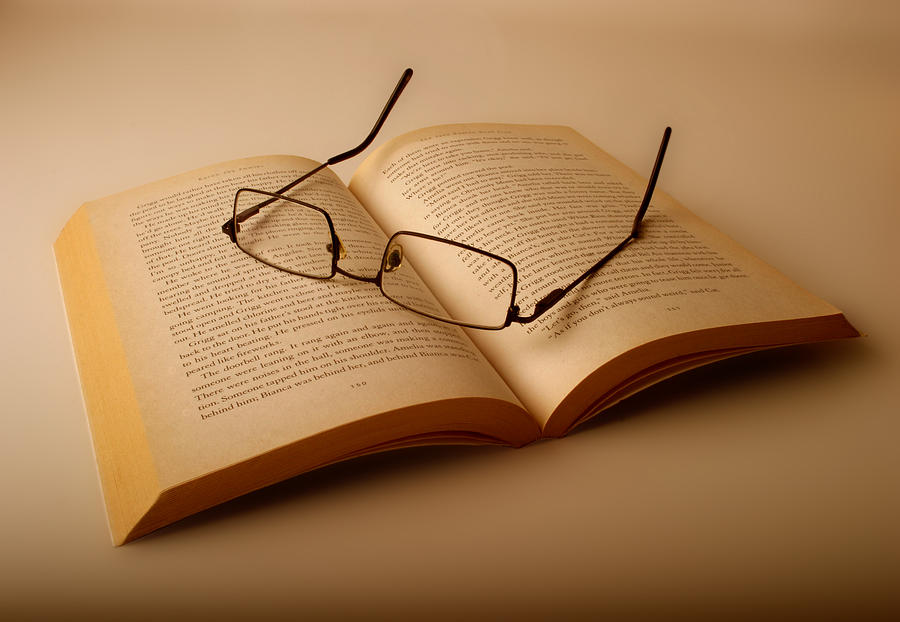 Book Photograph - Open Book by Jose Roldan Rendon