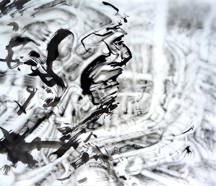 Biomechanical Painting - Open by David Frantz