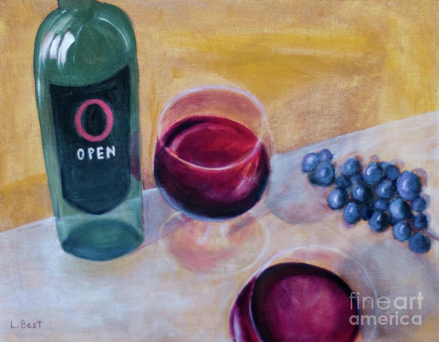 Open Painting - Open by Laurel Best