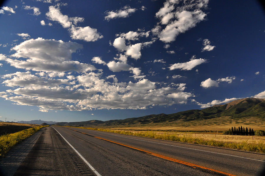 Open Road Colorado Highway 285 by Braden Moran