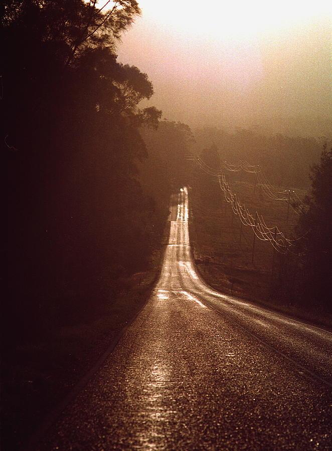 Road Photograph - Open Road by David Halperin