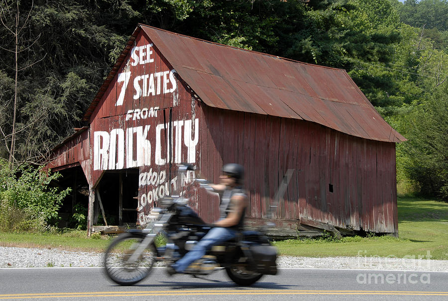 Motorcycle Photograph - Open Road by David Lee Thompson