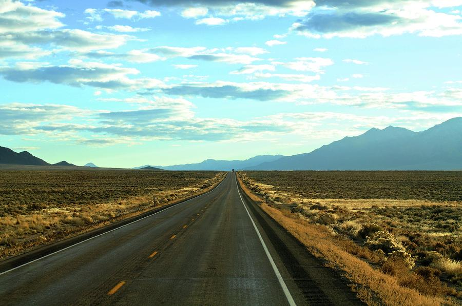 Open Road Photograph by Jason Branum