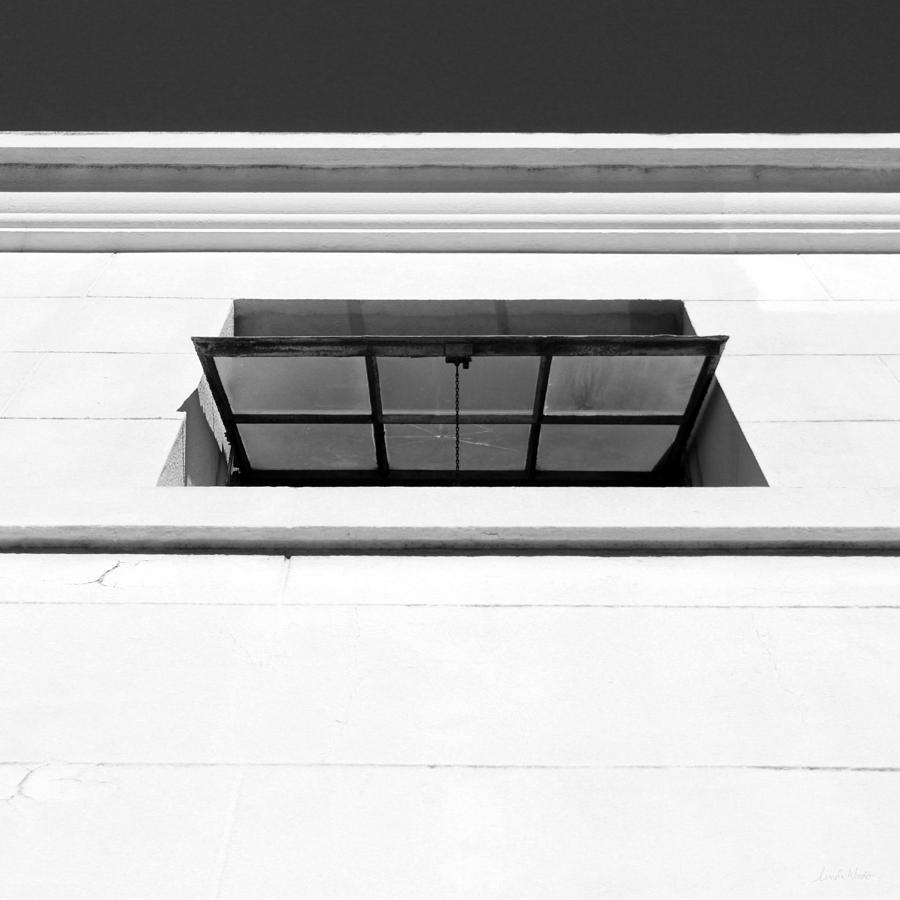 Window Photograph - Open Window- by Linda Woods by Linda Woods