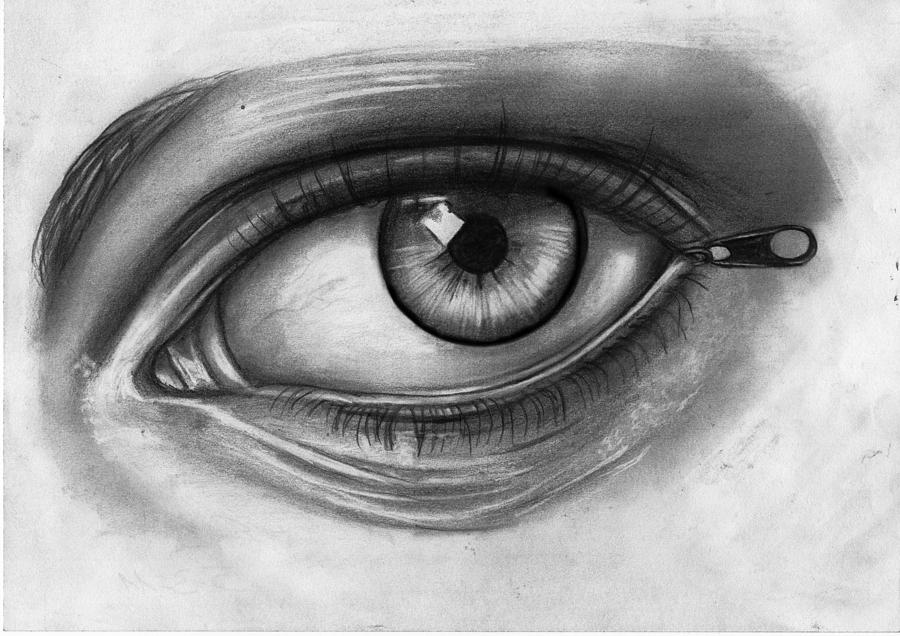 Open Your Eyes Drawing...